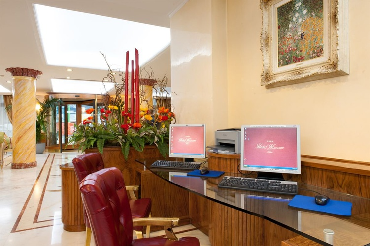 Media centre hotel marconi milán