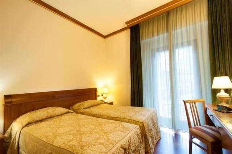 Habitación superior twin hotel marconi milán