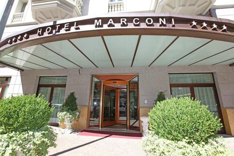 Fachada hotel marconi milán
