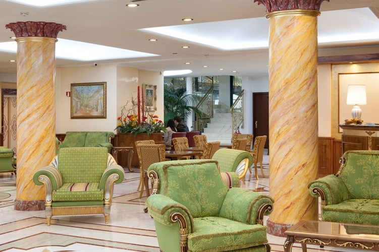 Lobby hotel marconi milán
