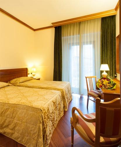 Habitación twin superior hotel marconi milán