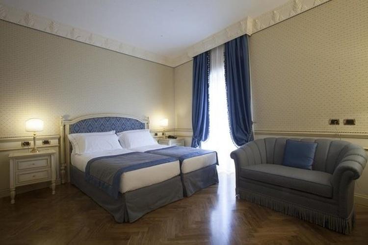 Habitación deluxe twin hotel marconi milán